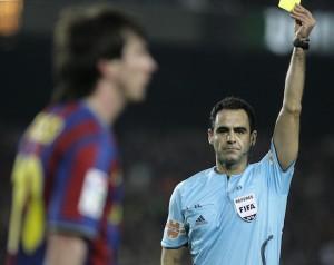 Spanish referee Carlos Velasco Carballo