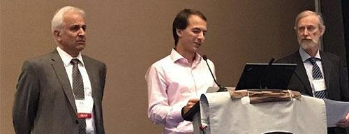 پنجمین جایزه بینالمللی «Lifetime achievement award» به دکتر علینقی مشایخی اهدا شد.