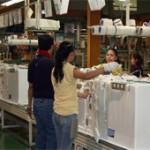 گزارش کوتاه ویدیویی از کارخانه تولید یخچال فریزر در کره جنوبی